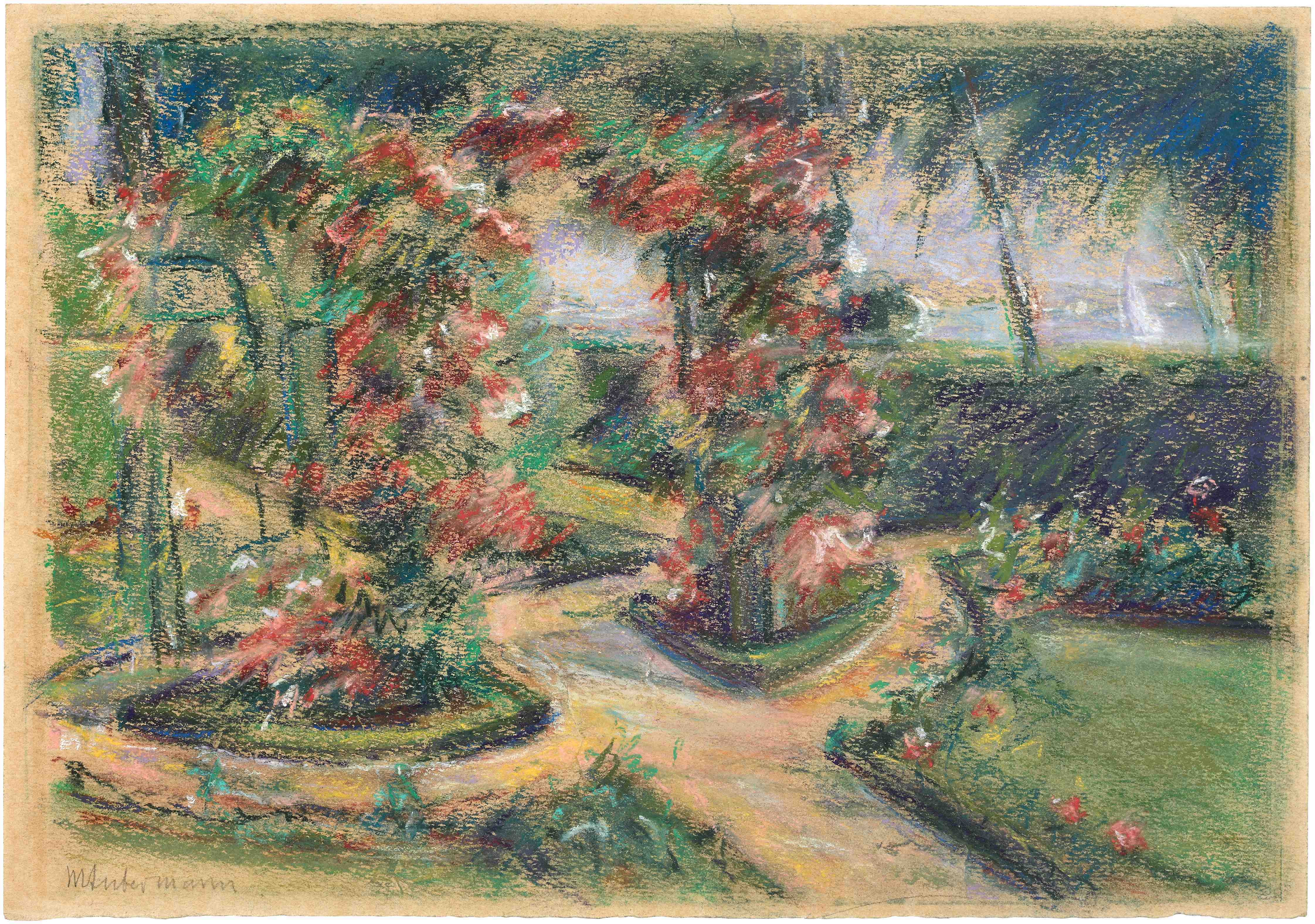 Max Liebermann Rose garden in Wansee